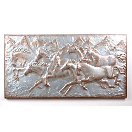 Wilco Home Horses Wall Plaque
