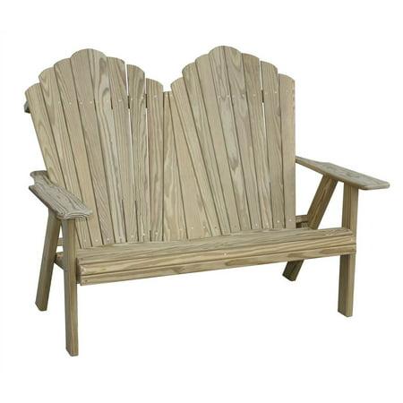Adirondack Loveseat Bench