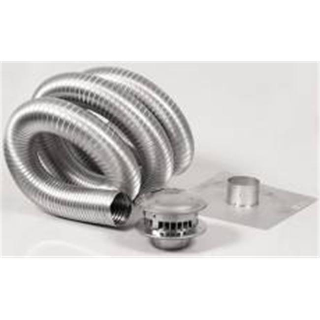 Selkirk-metalbestos 503806 5 in. x 25 ft. Gas Vent Type B Chimney Kit