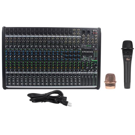 Mackie 8 Bus - Mackie PROFX22v2 Pro 22 Ch 4 Bus Mixer w Effects and USB PROFX22 V2 + Blue Mic