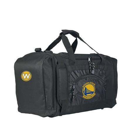 """Rtl Bag - NBA Golden State Warriors """"Roadblock"""" 20""""L x 11.5""""W x 13""""H Duffel Bag"""