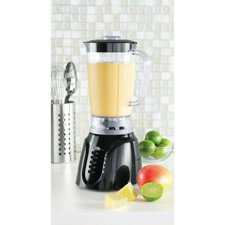 Mainstays 6-Speed Blender, Black