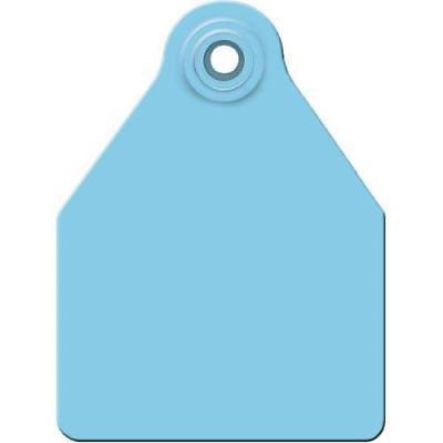 Allflex Large Blank Cattle Ear Tags Blue