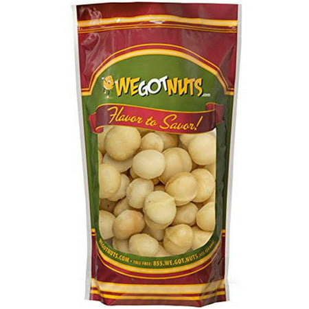 We Got Nuts Raw Whole Macadamia Nuts, 16 oz