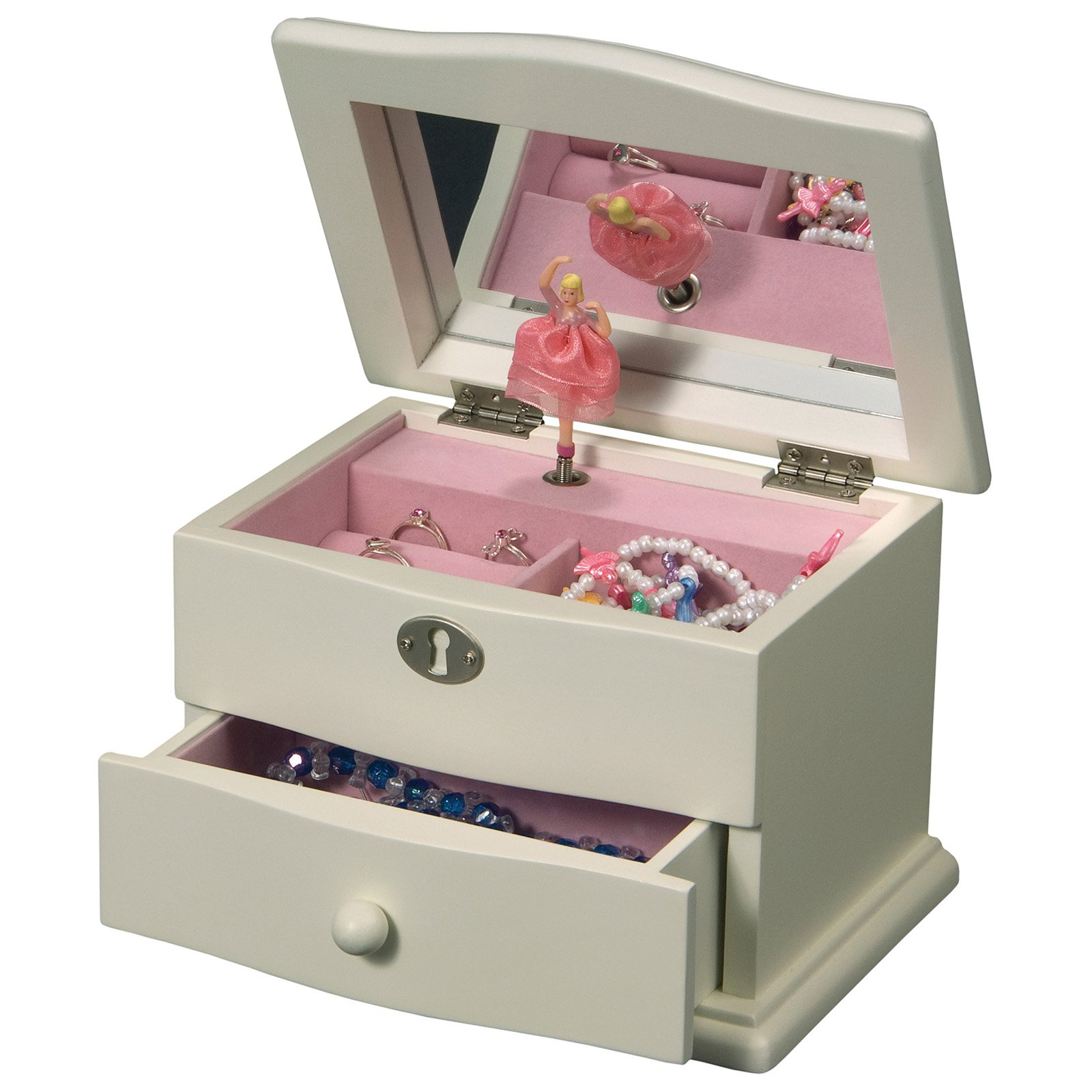 Mele & Co. Clarice Girls Musical Ballerina Jewelry Box ...