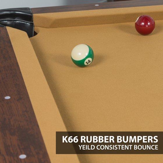 Classic Sport 87-inch Brighton Billiard Pool Table, Green Cloth