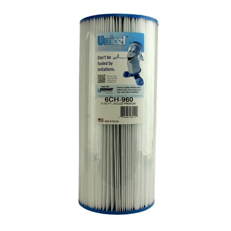 Unicel 6CH-960 Jacuzzi Premium Replacement Pool Spa Filter Cartridge 6540-476