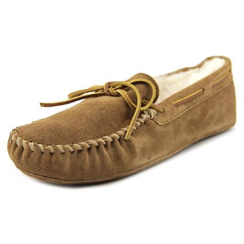 Minnetonka Men's Sheepskin Softsole Moccasin Slippers by Minnetonka