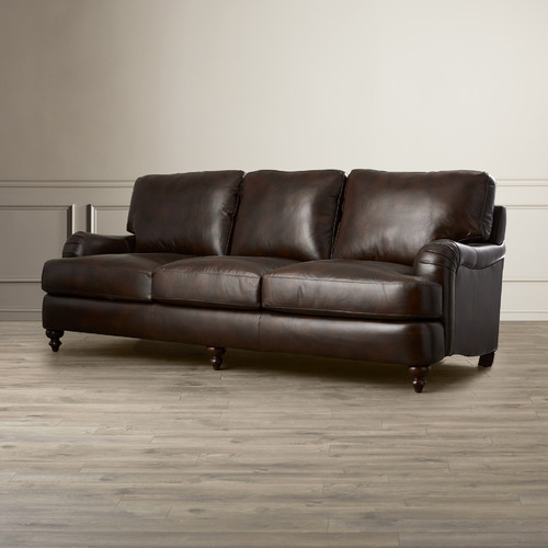 Darby Home Co Charles Leather Sofa
