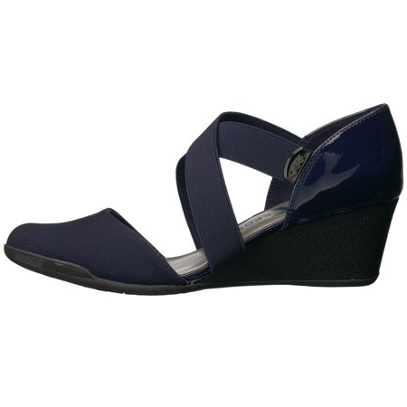 25039248230 Anne Klein Womens Teaberry Fabric Closed Toe Casual Platform - image 1 of 2  ...