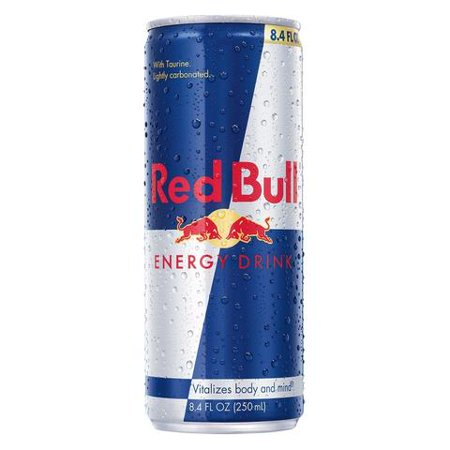 Red Bull Energy Drink, 8.4 Fl Oz Cans, 4 Pack