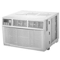 Cool Living 10,000-BTU 115-Volt Window Air Conditioner with LCD Display and Remote, White