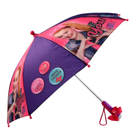Nickelodeon Little Girls JoJo Siwa Rainwear Character Umbrella, Age (Girl With Umbrella)