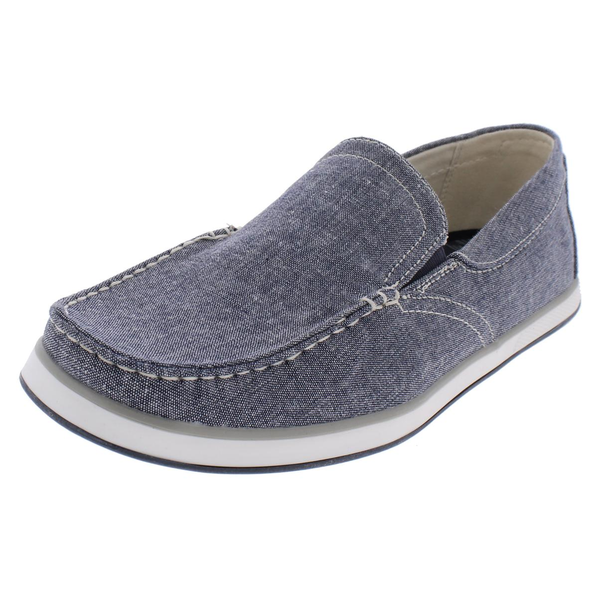 GBX Mens Siesta Canvas Loafer Slip-On Shoes by GBX