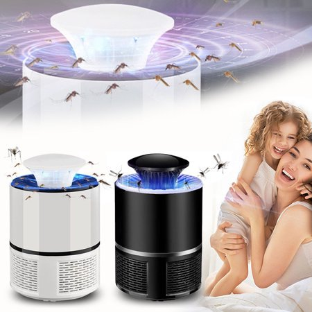 Best Choice Electric Mosquito Killer Fly Bug Zapper Mosquito Insect Killer 360 Degrees LED Light Trap Lamp Black / White Strong Built in Suction Fan Mosquito Trap for Indoor Home, USB Power Supply Lentek Mosquito Trap Propane Tank