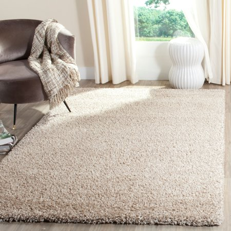Safavieh California Solid Plush Shag Area Rug or - Red Carpet Ropes