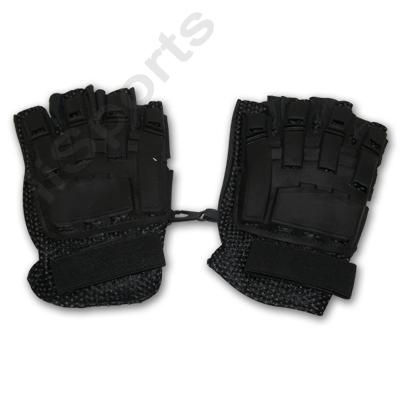 Isport PT5504A Flexon Half Finger Paintball Gloves Xl