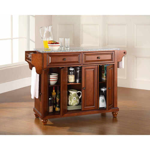 Crosley Furniture Cambridge Solid Granite Top Kitchen