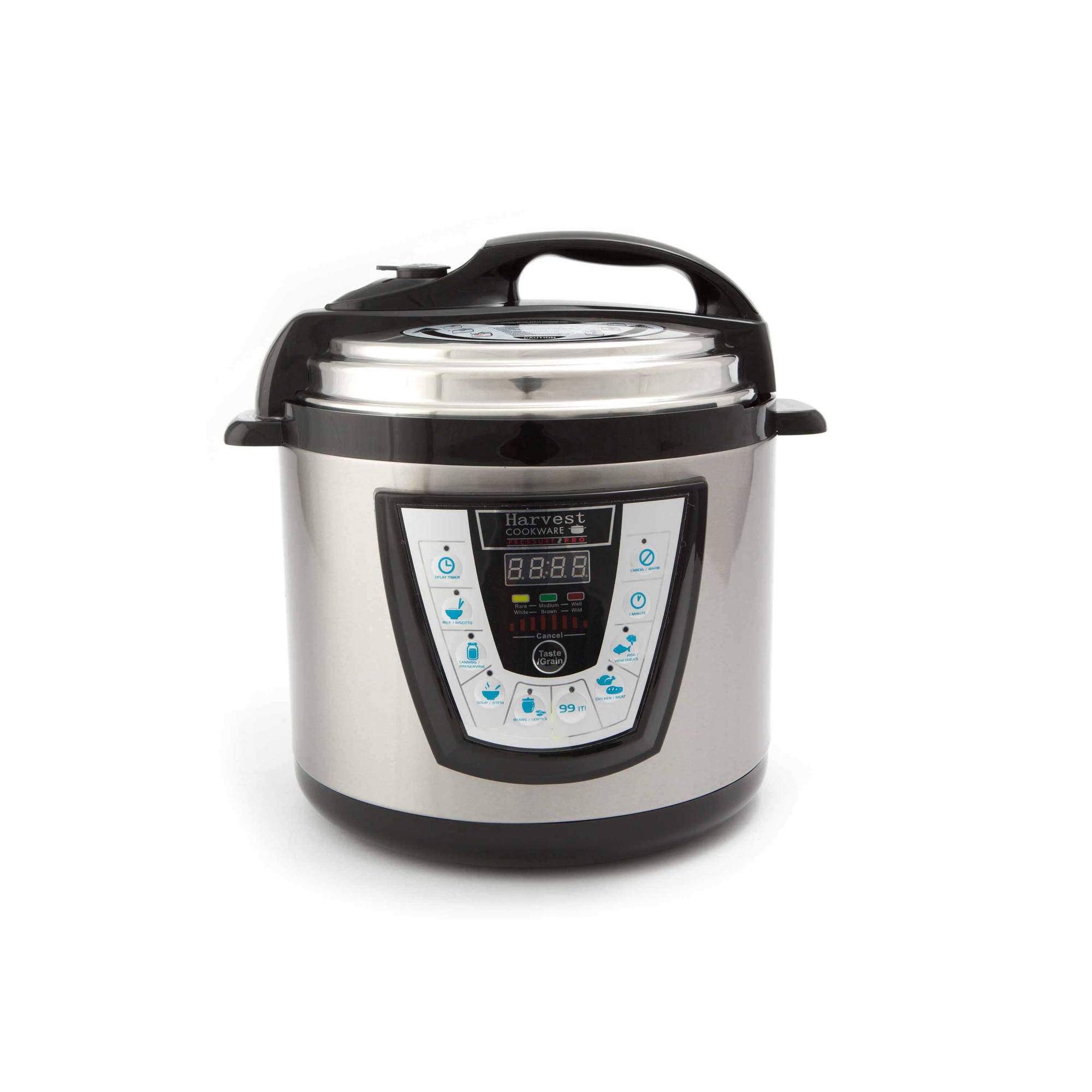 Harvest Cookware Electric Original Pressure Pro 4-Quart Pressure Cooker, Black