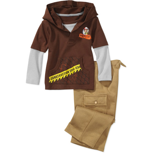 Disney - Baby Boys' Handy Manny Hangdown Top and Pants Set
