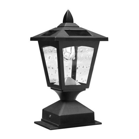 Kanstar Solar Powered Post Cap Light for 4 x 4 Nominal Wood Posts Pathway,Deck ()