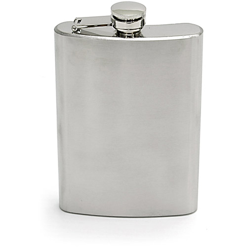 Chinook Stainless Steel Hip Flask, 8 oz