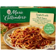 Marie Callender S Frozen Dinner Spaghetti With Meat Sauce 15 Ounce