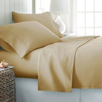 Simply Soft 6-Piece Bed Sheet Set, Full, Gold