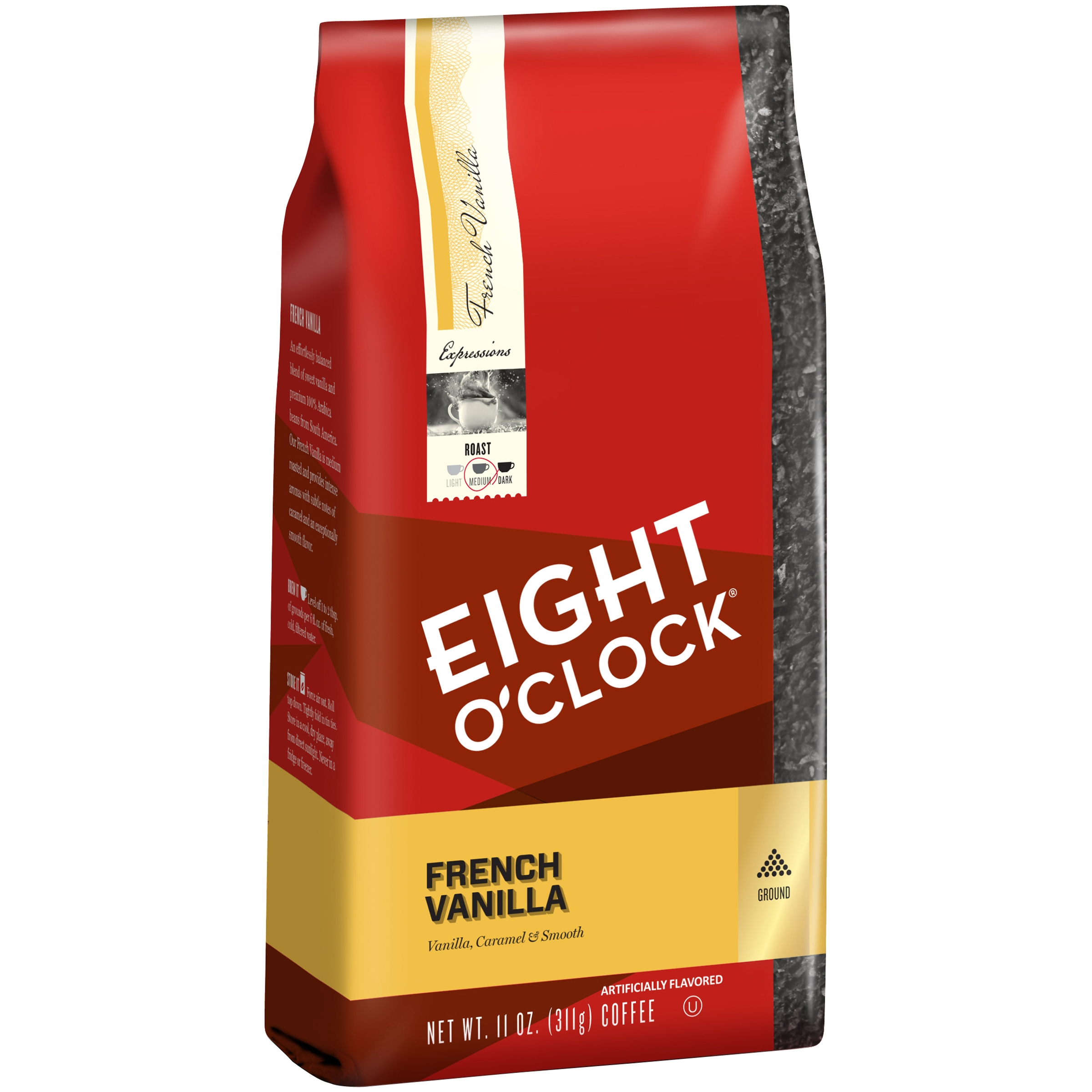 Eight O'Clock® French Vanilla Ground Coffee 11 oz. Bag