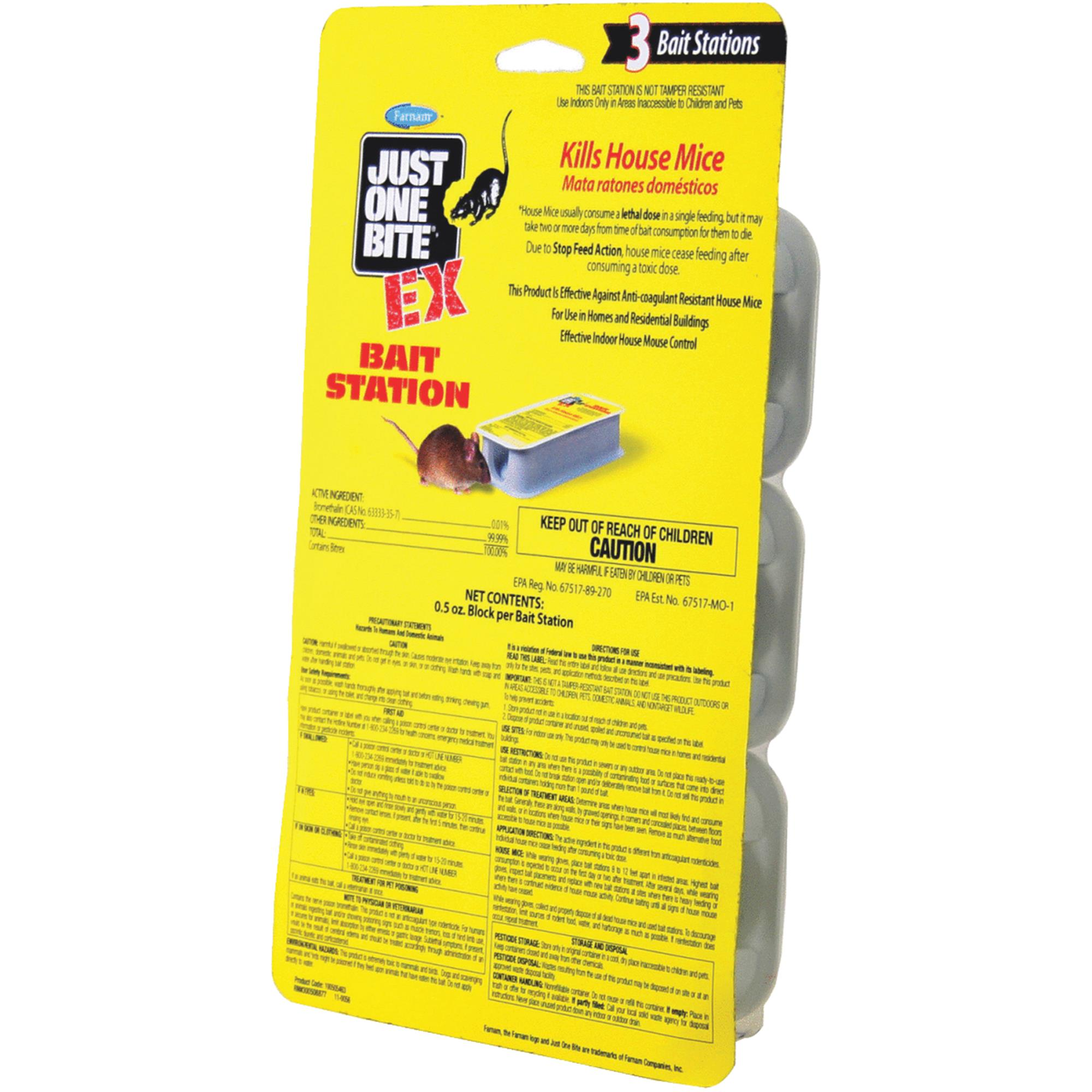 Farnam Just One Bite Ex 3-Unit Bait Station