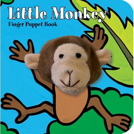 Little Monkey Finger Puppet Book (Board Book) (Little Shop Of Horrors Audrey 2 Puppet)