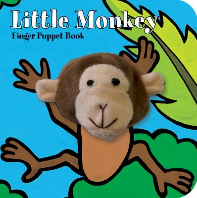 Little Monkey Finger Puppet Book (Board Book)