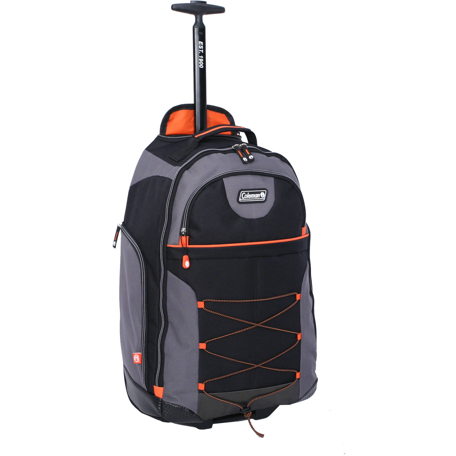 Coleman Rolling Backpack, Grey - Walmart.com