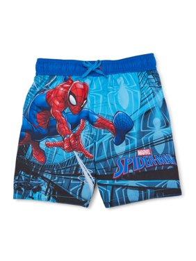Spider-Man Toddler Boy Swim Trunks UPF 50+