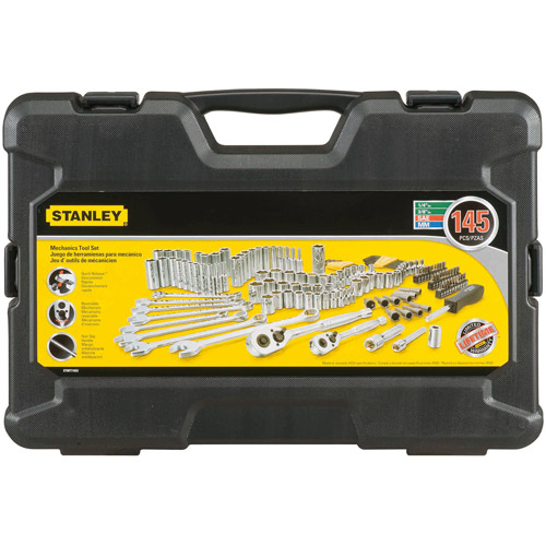 Stanley 145-Piece Mechanics Tool Set, STMT71653