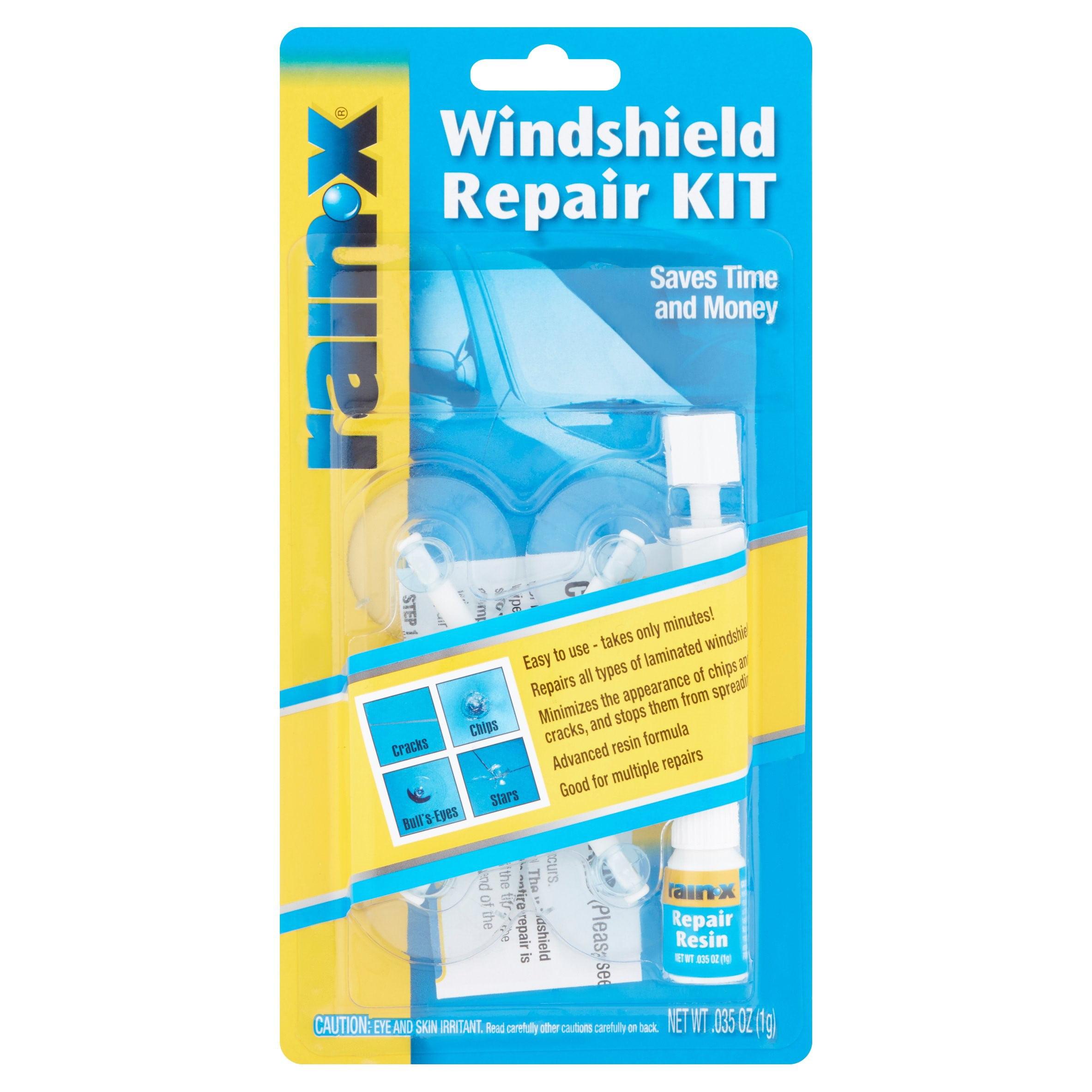 Windshield Crack Repair Kit >> Rainx Windshield Repair Kit 035 Oz Walmart Com