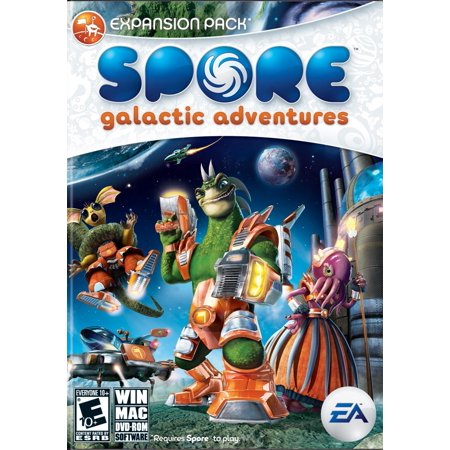Spore Galactic Adventures Expansion Pack   Pc Mac  Requires Spore To Play   Terraform Planets And For The First Time Place Buildings  Creatures     By Electronic Arts