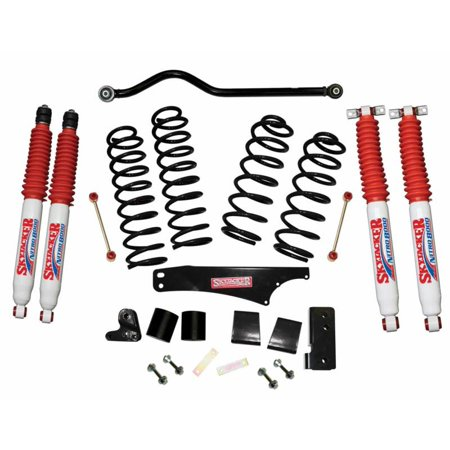 Skyjacker Suspension Lift Kit w/ Shock 2007-2017 Jeep Wrangler (Best Jk Lift Kit)