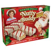 Little Debbie North Pole Nutty Buddy, 7 oz