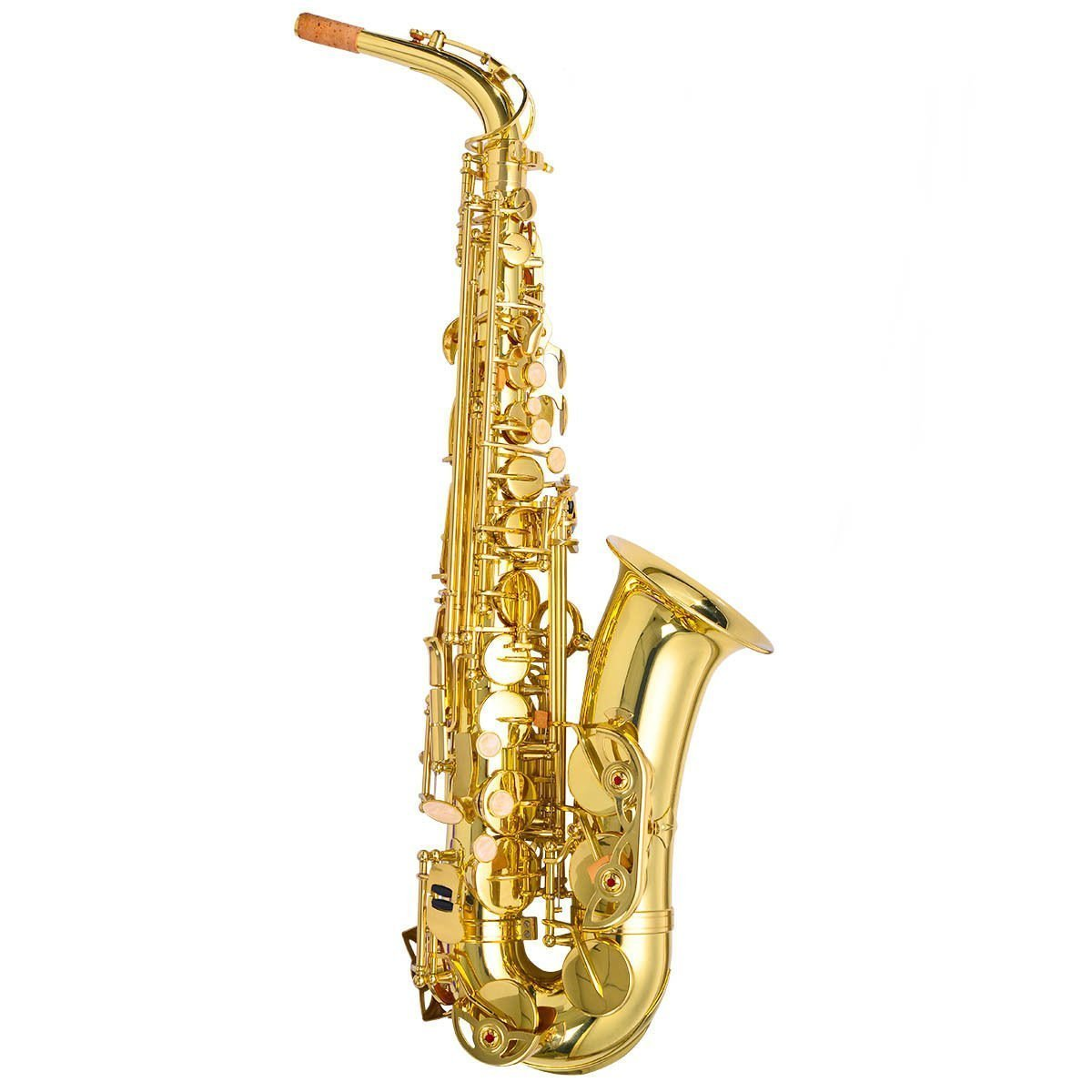 Professional OCDAY Gold Eb Alto Sax Saxophone Musical instruments With Case Accessories... by konxa