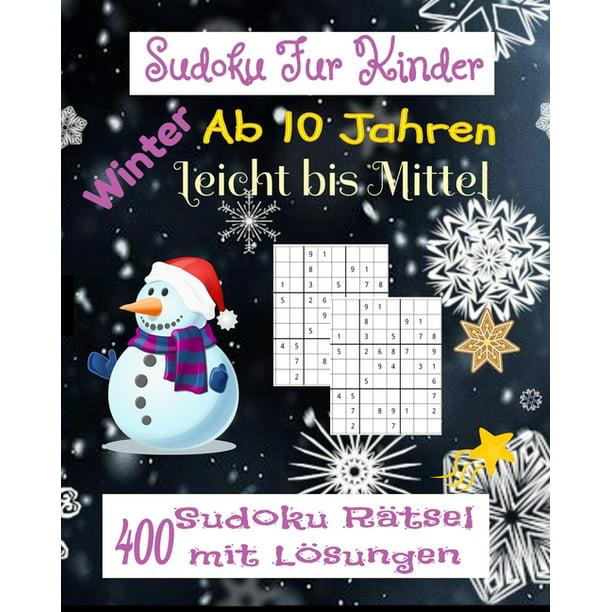sudoku für kinder ab 10 jahren winter leicht bis mittel