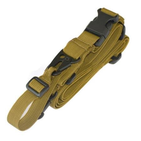 Nylon Multi-function Adjustable Tactics Wide Padded Sling(3 point sling design)