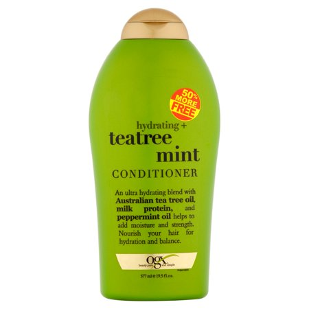 Ogx Beauty Pure and Simple Hydrating + Teatree Mint Conditioner, 19.5 fl