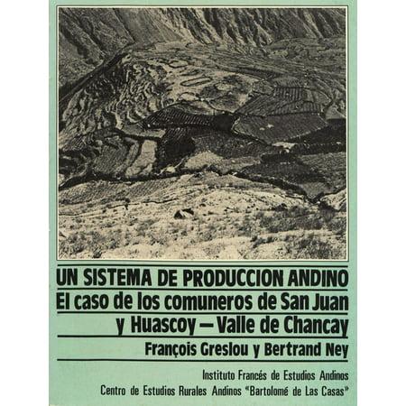 Un sistema de producción andino - eBook