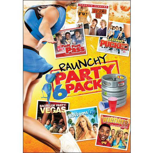 Raunchy Party 6 Pack (Widescreen)