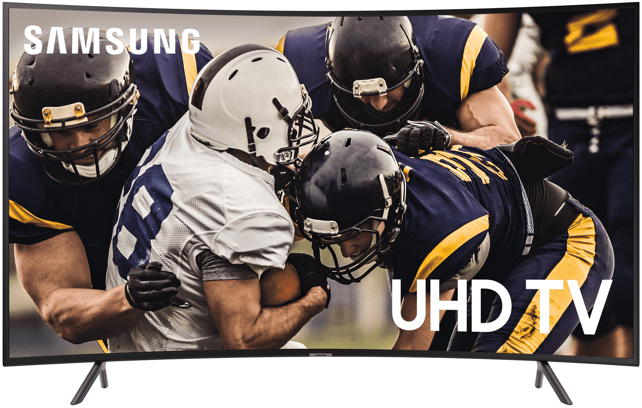 "SAMSUNG 55"" Class 4K Ultra HD (2160P) HDR Smart LED Curved TV UN55RU7300 (2019 Model)"