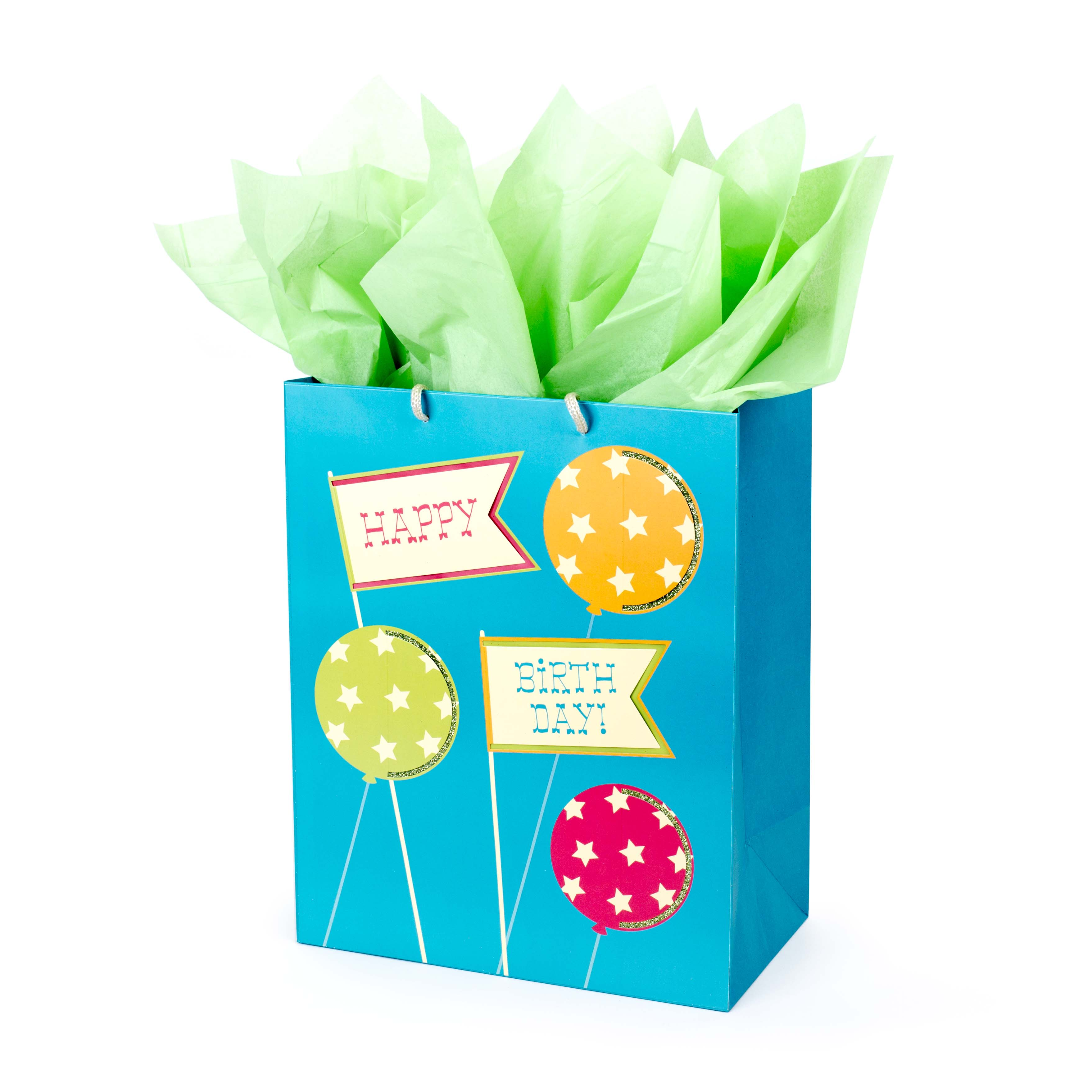 Hallmark, Happy Birthday to You, Large Gift Bag with Tissue Paper