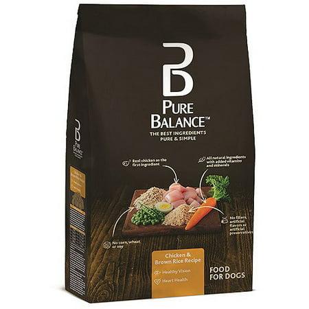 Pure Balance poulet et riz brun Tous Croquettes pour chien, 15 Lbs