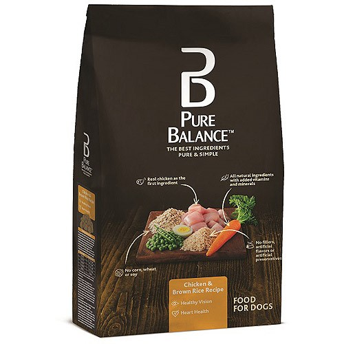 Pure Balance Chicken and Brown Rice All Dry Dog Food, 15 Lbs