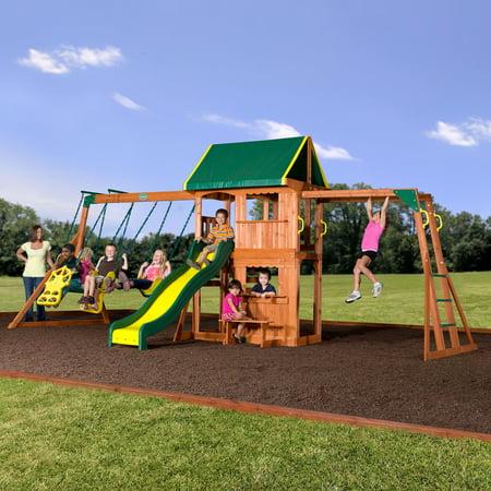 Backyard Discovery Prairie Ridge Swing Set